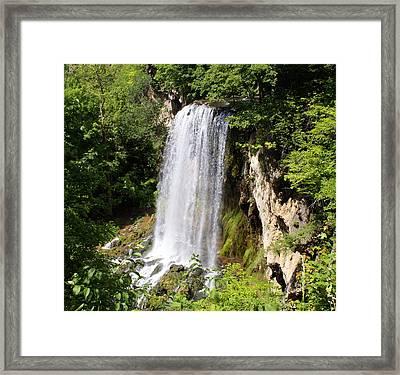 Hot Springs Framed Print by Gail Butler
