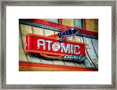 Hot Stuff Framed Print by Joan Carroll