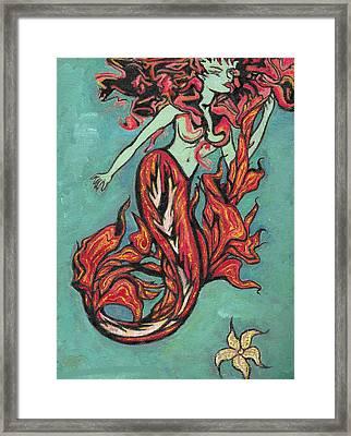 Hot Tuna Framed Print by Tiffany Selig