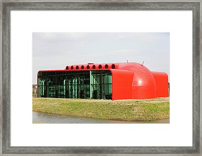 Hot Water For Space Heating Framed Print by Ashley Cooper