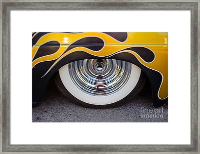 Hot Wheels Framed Print by Alexander Kunz
