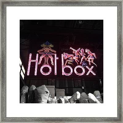 Hotbox Framed Print by Kelly Jade King