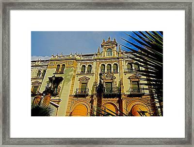 Hotel Alfonso Xiii - Seville Framed Print by Juergen Weiss