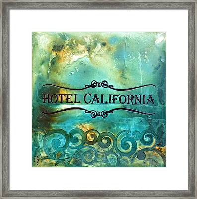 Hotel California Framed Print by Ivan Guaderrama