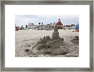 Hotel Del Coronado In Coronado California 5d24264 Framed Print by Wingsdomain Art and Photography