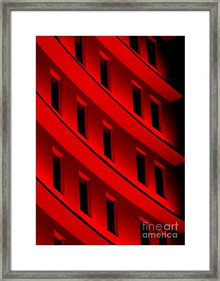 Hotel Ledges Of A New Orleans Louisiana Hotel #5 Framed Print by Michael Hoard