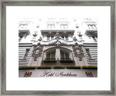 Hotel Monteleone  Framed Print by Sherry Dooley