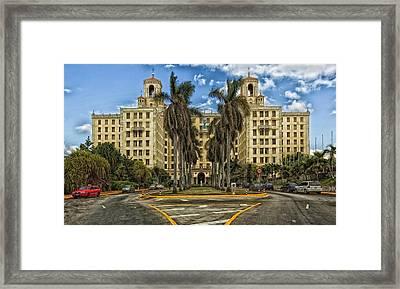 Hotel Nacional De Cuba Framed Print by Mountain Dreams