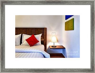 Hotel Room Framed Print by Fototrav Print