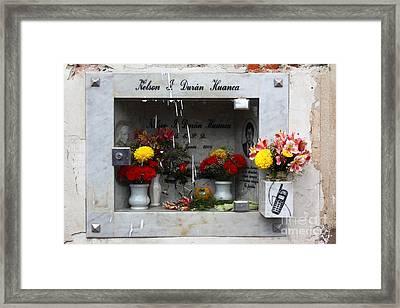 Hotline To The Afterlife 2 Framed Print by James Brunker