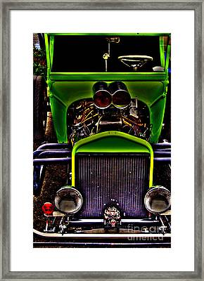 Hotrod Ford Framed Print by Steven Parker