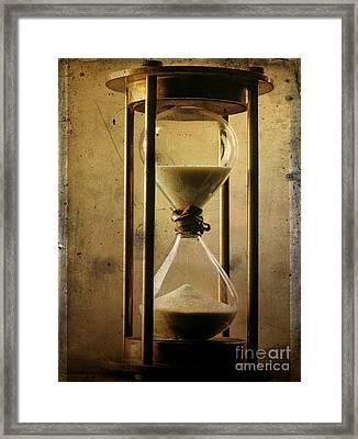 Hourglass  Framed Print by Bernard Jaubert