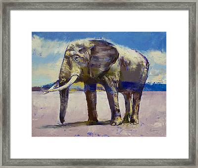 Hourglass Framed Print by Michael Creese