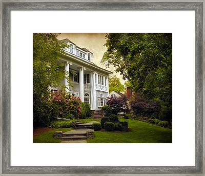 House Hunting Framed Print by Jessica Jenney
