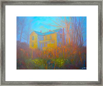 House In Blacksburg Framed Print by Kendall Kessler