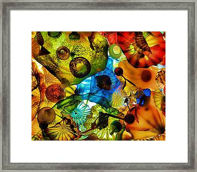 House Of Glass Framed Print by Dan Sproul