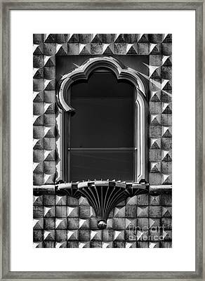 House Of Spikes 1 Framed Print by Rod McLean