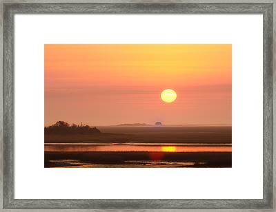 House Of The Rising Sun Framed Print by Jo Ann Tomaselli