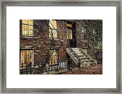 House On Main Street Framed Print by Doc Braham