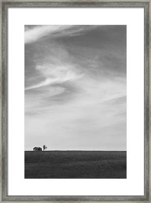 House On The Hill 2 Framed Print by Mike McGlothlen