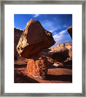 House Rock Framed Print by Ray Mathis