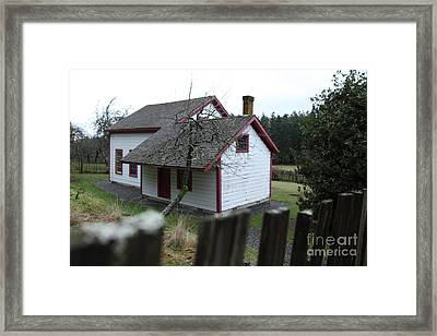 House View Framed Print by Graham Foulkes