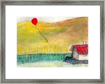 Houseballoon Framed Print by James Raynor