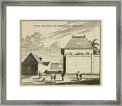 Houses Framed Print by British Library