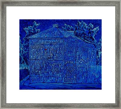 House's Memory  Framed Print by Andrey Soldatenko