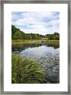 Houston Pond Framed Print by Christina Rollo