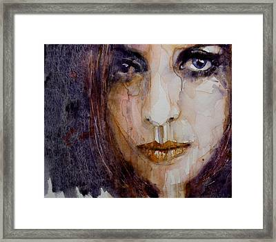 How Can You Mend A Broken Heart Framed Print by Paul Lovering