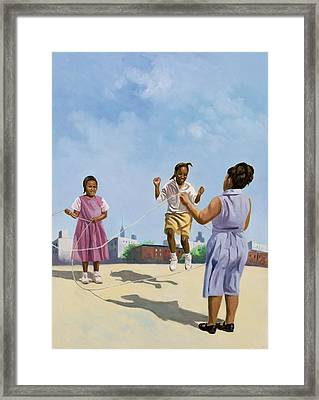 How High Framed Print by Colin Bootman
