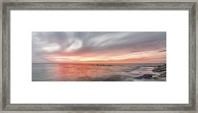 How It Can End II Framed Print by Jon Glaser