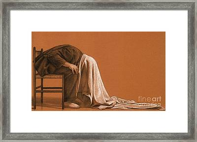 How Not To Be Seen Framed Print by Dirk Dzimirsky