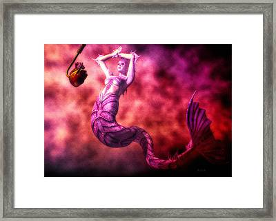How To Catch Mermaids Framed Print by Bob Orsillo