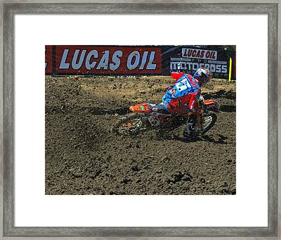 How To Turn 2 Framed Print by Brian McCullough