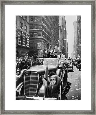 Howard Hughes (1905-1976) Framed Print by Granger