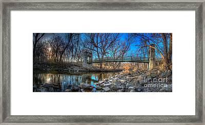 Hoyt Bridge Framed Print by Andrew Slater