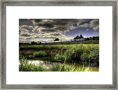 Hst In The Culm Valley  Framed Print by Rob Hawkins