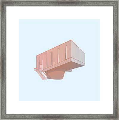 Hudson Beare Framed Print by Peter Cassidy