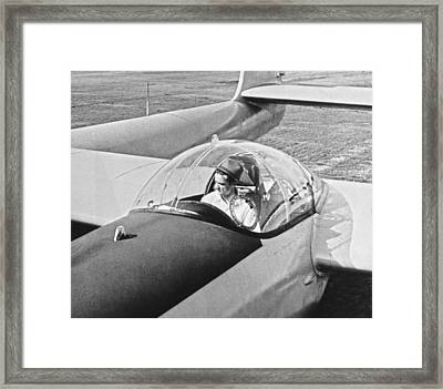 Hughes New Fx-11 Plane Framed Print by Underwood Archives
