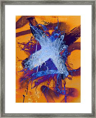 Hugs And Daggers  Framed Print by JC Photography and Art