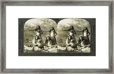 Hula Dancers, C1905 Framed Print by Granger