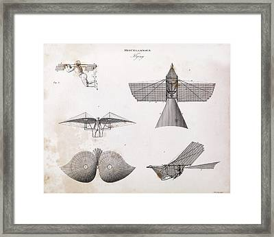 Human-powered Flight Framed Print by Middle Temple Library