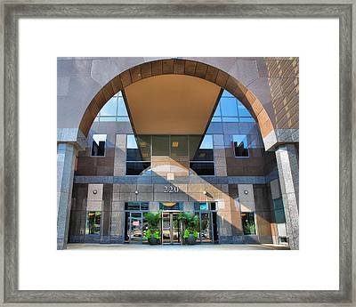 Humana Building II Framed Print by Steven Ainsworth