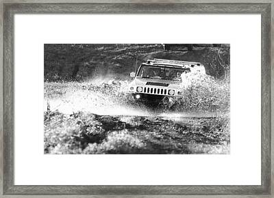 Hummer Off Road Framed Print by Jeff Taylor