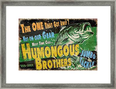 Humongous Brothers Framed Print by JQ Licensing