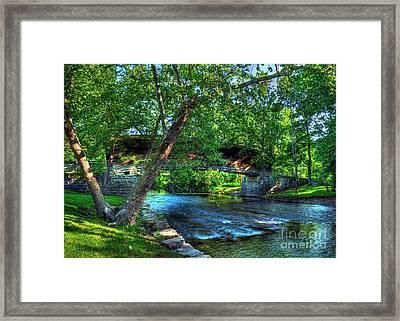 Humpback Covered Bridge Framed Print by Mel Steinhauer