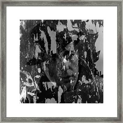 Humphrey Bogart 2 Framed Print by Andrew Fare