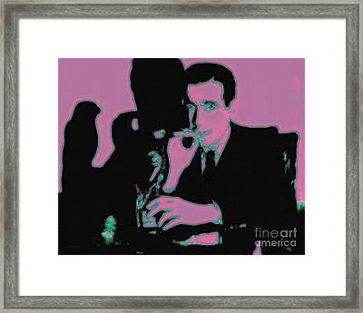 Humphrey Bogart And The Maltese Falcon 20130323m138 Framed Print by Wingsdomain Art and Photography